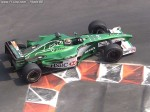 Eddie Irvine, Jaguar Cosworth, race action